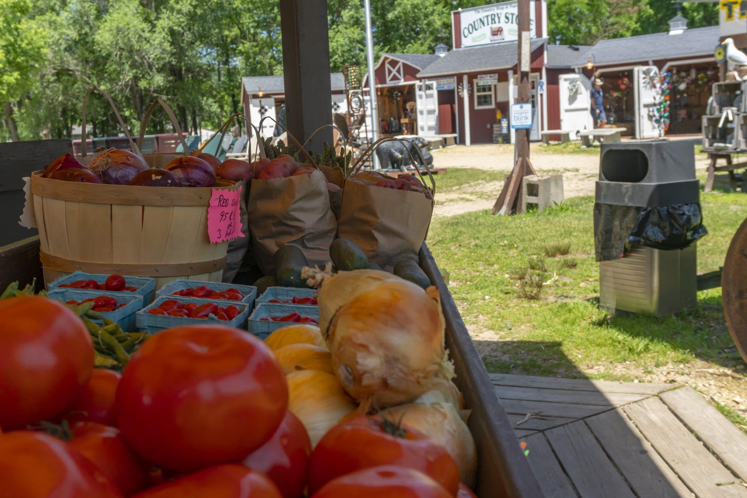 Produce for Sale at Pepin Country Store