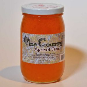 Pine Country Apricot Jam