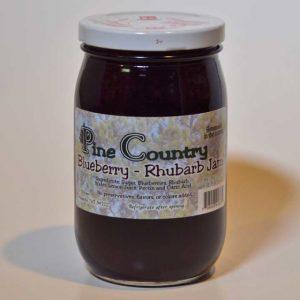 Pine Country Blueberry Rhubarb Jam