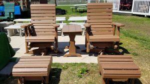 Brown Maintenance Free Patio Furniture