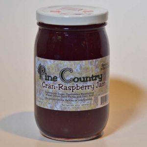 Pine Country Cran-Raspberry Jam