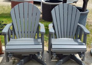 Gray Maintenance Free Patio Furniture