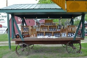 Jelly & Jam Wagon at Pepin Country Stop