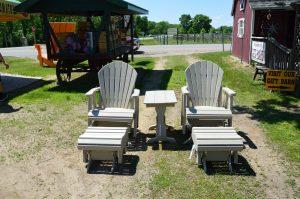 Off-White Maintenance Free Patio Furniture
