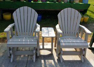 White Maintenance Free Patio Furniture