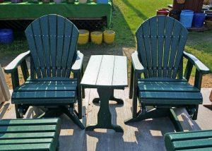 Green Maintenance Free Patio Furniture
