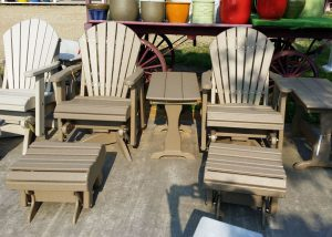 Light Brown Maintenance Free Patio Furniture
