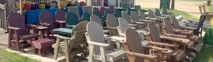 Maintenance Free Patio Furniture at Pepin Country Stop
