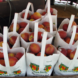 Peaches at Pepin Country Stop