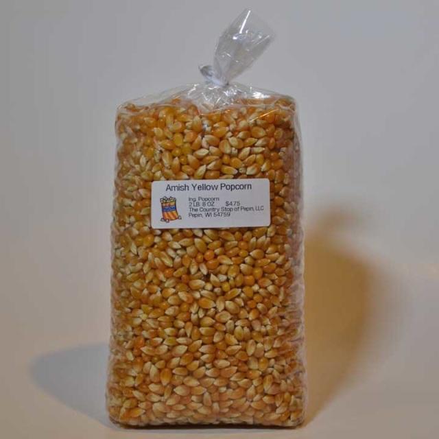 Amish Yellow Popcorn