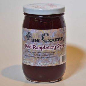 Pine Country Red Raspberry Jam