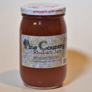 Pine Country Rhubarb Jam