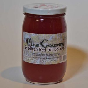 Pine Country Seedless Red Raspberry Jam