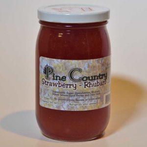 Pine Country Strawberry Rhubarb Jam