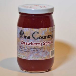 Pine Country Strawberry Spread